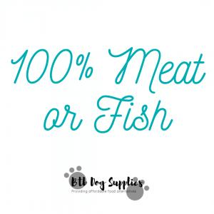 100% Meat/Fish