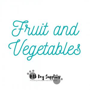 Fruit/ Vegetables